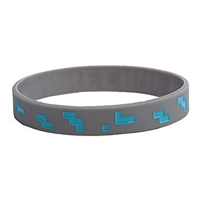 Official Licensed Minecraft Diamond Crafting Bracelet Size MEDIUM (Kids under 14)
