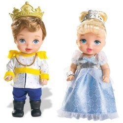 Disney Princess Enchanted Nursery Pairs: Cinderella & Princes Charming