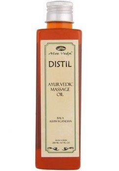 Aloe Veda Distil Ayurvedic Massage Oil Bala Ashwagandha 200Ml