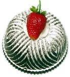 Bundt Cake Strawberry Fake Food