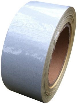 Reflective Tape White 50mm X 25M - Weatherproof Strong