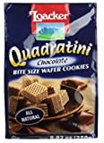 Loacker Quadratini, Chocolate Wafer Cookie, 8.82 Ounce Pack