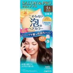 サロンドプロ ワンプッシュ泡のヘアカラー 4A