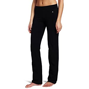 Danskin Women's Yoga Pant, Black, Large