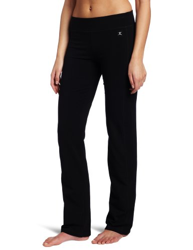 Danskin Women's Sleek Fit Yoga Pant, Black, Large (Yoga Womens Pants compare prices)