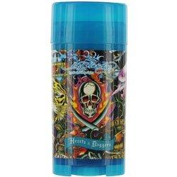 Ed Hardy Hearts & Daggers Deodorant Stick Alcohol Free 2.5 Oz Men