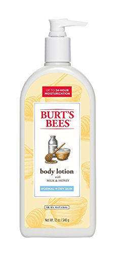Burt's Bees Milk and Honey Body Lotion, 12 Ounces