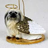 Pekingese Angel Dog Ornament