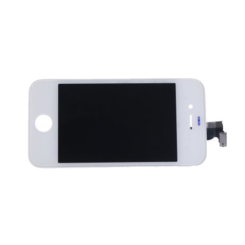 Riin Replacement Front Glass Lens Digitizer Lcd Touch Screen + 8Pcs Repair Tools Tool Kit Inclding T5 T6 For Apple Iphone (4 4G Cdma White)