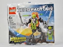 Lego hero Factory 40116 Invasion from Below