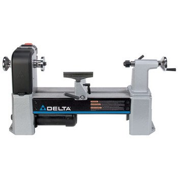 Delta Industrial 46-455 12-1/2-Inch 5-Speed Midi Lathe