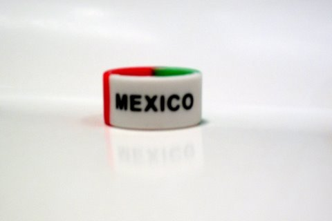 Mexico silicone finger ring unisex