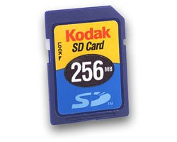 Kodak 256mb Premium Secure Digital SD Memord Card