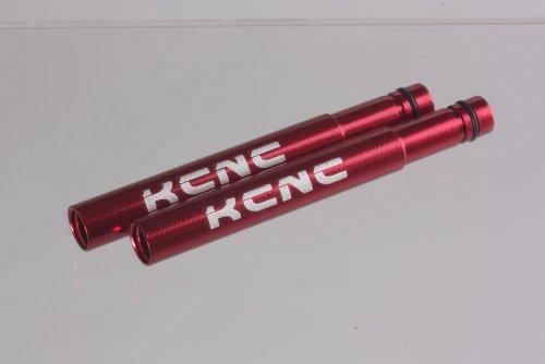 Buy Low Price KCNC Extension Valve 50mm 6061AL 2 pcs Red (KCN-E-EXTENVALVE-RE)