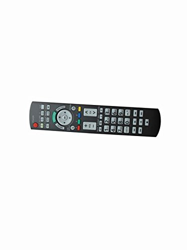 Universal Replacement Remote Control For Panasonic Tc-L47E50 Tc-L55E50 Tc-P50G25 Tc-P42Gt25 Viera Lcd Led Plasma Hdtv Tv