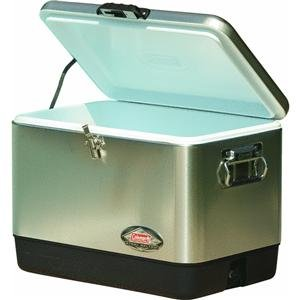 Coleman Company 54-Quart Steel Belted Cooler,