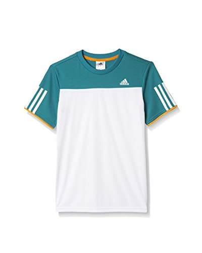 adidas T-Shirt Manica Corta B Club Tee [Bianco/Verde]