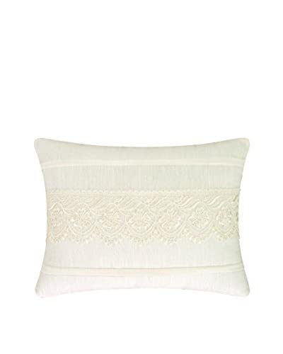Lace Pillow, Cream