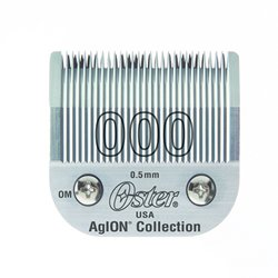 Oster Agion Hair Clipper Blade- Size 000- For Classic 76, Star-Teq, Power-Teq & Power Line Clippers by Oster Professional (Blades For Oster 76 Clippers compare prices)