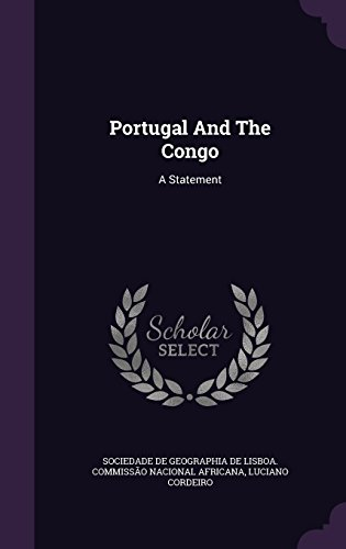Portugal And The Congo: A Statement
