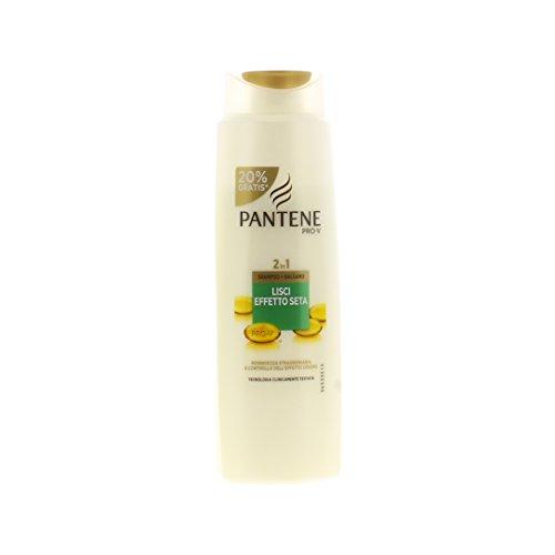 Pantene Shampoo E Balsamo 2 In 1 Lisci Effetto Seta, 270 Ml