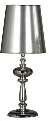 Casa Padrino stool lamp Table lamp silver 57 x 24 cm - light lamp