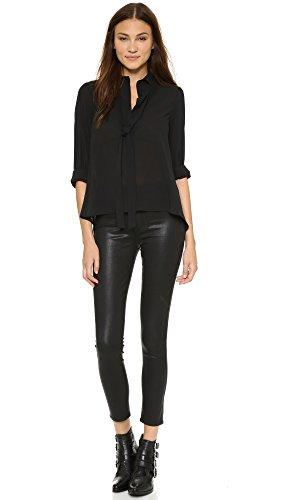 Paige Denim Women's Margot Ankle Skinny Jeans, Black Silk, 31
