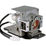Replacement projector lamp 5J.J3J05.001 with housing for BENQ MX760/ MX761/ MX762ST/ MX812ST projectors