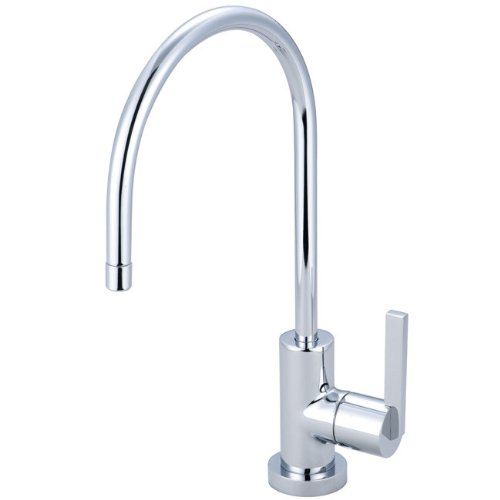 Kingston Brass KS8191CTL Continental Single Handle Water Filtration Faucet, Polished Chrome