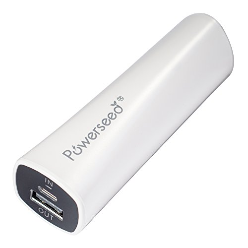 Powerseed Rainbow PS2200E White Power Bank USB Portable Charger Samsung Galaxy S6, S5, Samsung Gear, Note 4, Apple Watch, iPhone 4, iPhone 5, iPhone 5S, iPhone 5C, iPhone 6, iPhone 6 Plus, Android Phones, iPad, Android Tablet, Windows Tablet, Go Pro Hero Camera, PSP, Nintendo 3DS, Sony Playstation Vita, Drones and more (WHITE) (Wireless Gear Portable Charger compare prices)
