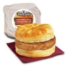 Jimmy Dean Southern Style Chicken Biscuit, 3.8 Ounce -- 12 Per Case.