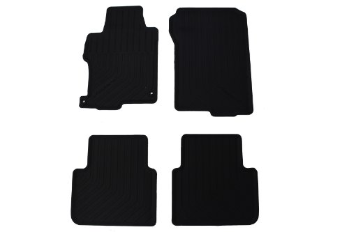 Genuine Honda Accessories 08P13-T2A-110 All Season Floor Mat for Select Accord Models (Car Mats Honda Accord compare prices)