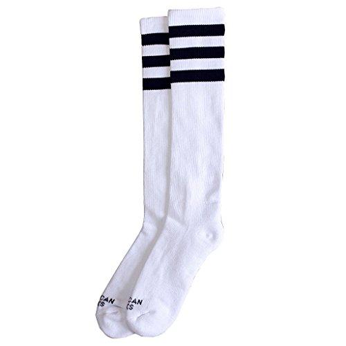 Americano Socks Old School Alta Retro Skate Roller Derby Socks - O/S (UK 4 - 11)