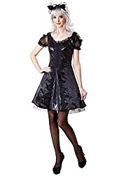 Totally Ghoul Sassy Cat Womens Costume One Size