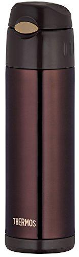 サーモス 水筒 真空断熱ストローボトル 0.5L ブラウン FFI-500 BW