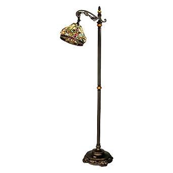 dale tiffany tf60200 topaz baroque floor lamp antique golden sand. Black Bedroom Furniture Sets. Home Design Ideas
