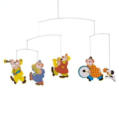 Flensted Mobiles Nursery Mobiles, Circus front-972654