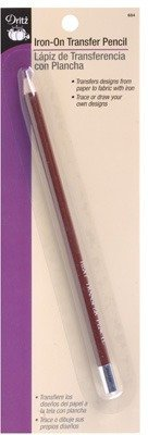 Dritz(R) Iron-On Transfer Pencil - Red