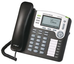 Grandstream Networks Gxp2100 Mainstream 4-Line Ip Phone With Back-Lit 180X90 Graphical Lcd Display, Dual 10/100Mbps Ethernet Port