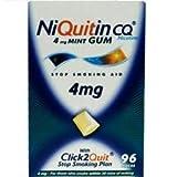 NiQuitin CQ 4mg Gum Mint x 96