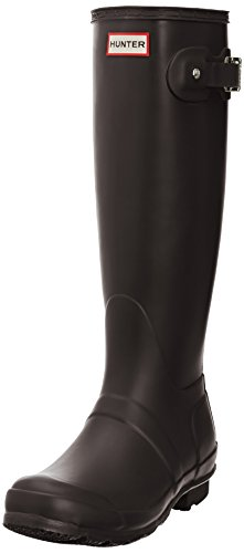 Hunter Original Tall W23499-BCH - Botas para mujer, color chocolate, talla 37
