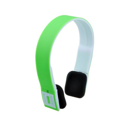 VicTsing Sports Over the head Wireless Bluetooth Stereo Headset Headphone Black For iphone 5 5G 5S 4S 4 ipad 4 3 2 ipad mini Samsung galaxy S4 SIV S3 SIII S2 SII S1 Note 3 Note 2 Note 1 HTC One M7 Sony Xperia Z L36h L36i Nokia Lumia 925 LG Optimus G Nexus 4 7 10 Blackberry Z10 Smartphones PC Laptops -Handsfree and Rechargeable(Green) VicTsing Bluetooth Headsets autotags B00GWEZOHW