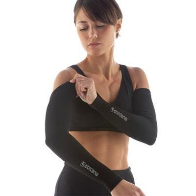 Giordana FR-C Seamless Cycling Arm Warmers - Black - gi-armw-bclw-blck