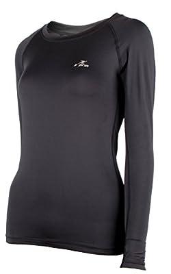 Xprin A101 Women's Long Sleeve Cool Base Layer Compression Shirt Sports Wear