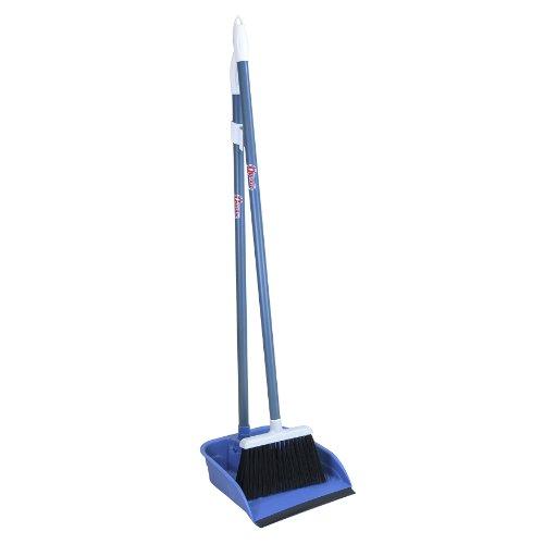 Quickie Flip Locking Dustpan and Broom