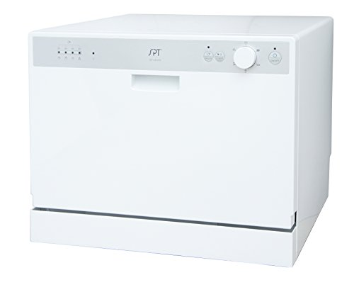 SPT SD-2202W Countertop Dishwasher with Delay Start, White (Portable Dishwasher compare prices)