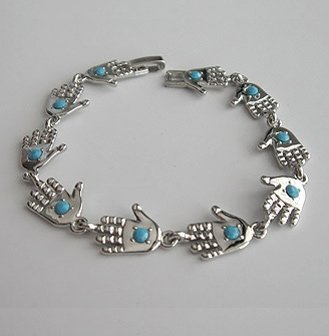 Round Hamsa Shamballa Friendship Bracelet Evil Eye Charm Kabbalah Hand Of Fatima Silver