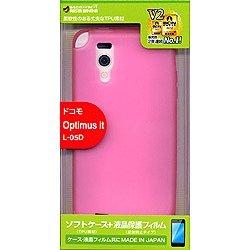 ラスタバナナ Optimus it用 TPUケース (マゼンタ) X255L05D