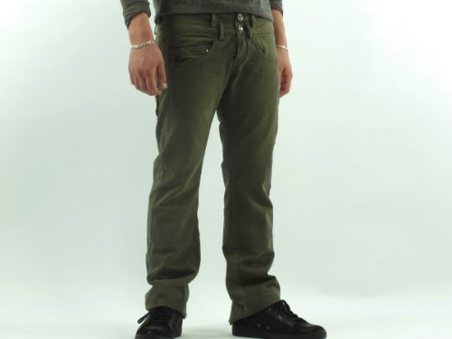 Desigual 99p1600_4064 Loose Green Man Trousers Men - 40