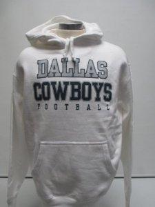 Dallas Cowboys Wildcard Fleece Hoodie(white) by Dallas Cowboys